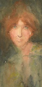Mary Cottie Yeats, Portrait of a Lady at Morgan O'Driscoll Art Auctions