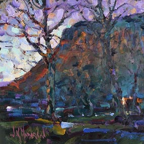 Arthur K. Maderson, Approaching Dusk, Benbulben, Sligo at Morgan O'Driscoll Art Auctions