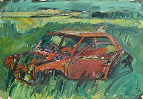 Hermann Wagner, Rust in Peace, Callery at Morgan O'Driscoll Art Auctions