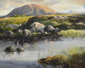 Geraldine O'Brien (20th/21st Century), Lough Fadda at Morgan O'Driscoll Art Auctions