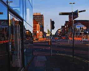 Trevor McElnea, Great Victoria Street, Belfast at Morgan O'Driscoll Art Auctions