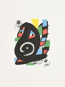 Joan Miro, Acid Melody Series at Morgan O'Driscoll Art Auctions