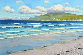 Fergal Flanagan, Keel Beach, Achill, Co Mayo at Morgan O'Driscoll Art Auctions