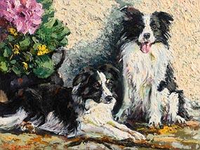 James S. Brohan, Collies at Morgan O'Driscoll Art Auctions