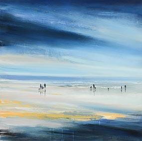 Paula McKinney, Coastal Stroll at Morgan O'Driscoll Art Auctions