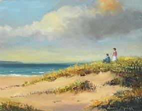 Norman J. McCaig, Looking out to Sea at Morgan O'Driscoll Art Auctions