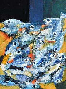 Alain H�raud, Fish (2017) at Morgan O'Driscoll Art Auctions