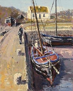 Ivan Sutton, Struthon Pier at Morgan O'Driscoll Art Auctions