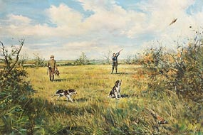 Gordon King, On the Shoot at Morgan O'Driscoll Art Auctions