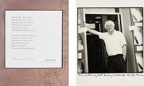John Minihan, Seamus Heaney, Bantry, West Cork at Morgan O'Driscoll Art Auctions