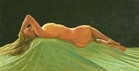Gemma Guihan, Reclining Nude at Morgan O'Driscoll Art Auctions