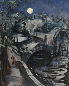 Barbara Warren, Moonlight at Morgan O'Driscoll Art Auctions