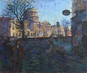 Desmond Hickey, Four Courts, Dublin at Morgan O'Driscoll Art Auctions