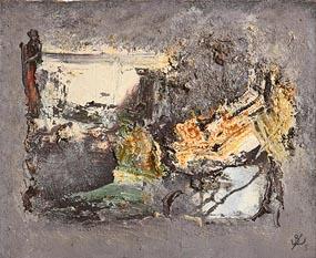 John Kingerlee, Landscape and Figures (2005) at Morgan O'Driscoll Art Auctions