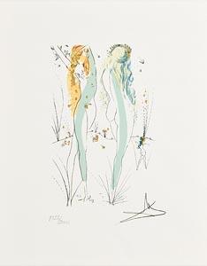 Salvador Dali, Return, Return, Shulamite at Morgan O'Driscoll Art Auctions