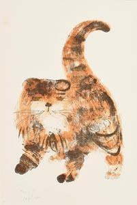 Dariush Mohaier, Le Chat at Morgan O'Driscoll Art Auctions