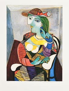 Pablo Picasso, Portrait of Marie -Therese Walter at Morgan O'Driscoll Art Auctions