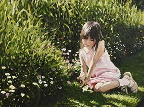John Murphy, Admiring Wild Flowers, Botanic Gardens at Morgan O'Driscoll Art Auctions