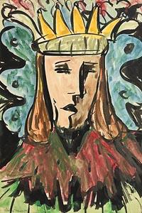 Gladys MacCabe, The King at Morgan O'Driscoll Art Auctions