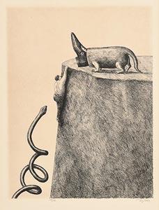 Ronald Topor, Untitled at Morgan O'Driscoll Art Auctions