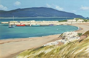 Cecil Maguire, Horn Head from Dunfanaghy, Donegal (2006) at Morgan O'Driscoll Art Auctions