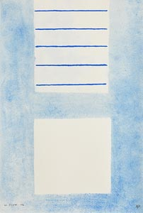 "William Scott, Fire on the Rectangle, from ""A Poem for Alexander"" (1972) at Morgan O'Driscoll Art Auctions"