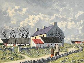 Ciaran Clear, The Homestead at Morgan O'Driscoll Art Auctions