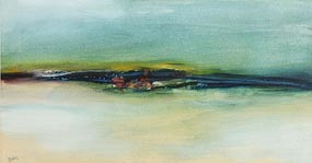 Gerald Davis, Achill Memory III (1971) at Morgan O'Driscoll Art Auctions