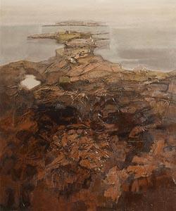 Arthur Armstrong, Headland at Morgan O'Driscoll Art Auctions