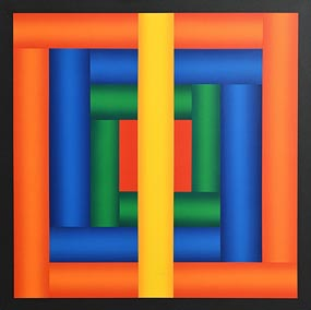 Francis Tansey, Tubular Composition II (1988) at Morgan O'Driscoll Art Auctions
