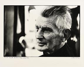 John Minihan, Samuel Beckett, Riverside Studios (1984) at Morgan O'Driscoll Art Auctions