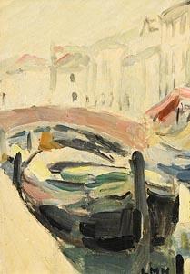 Letitia Marion Hamilton, Canal in Venice at Morgan O'Driscoll Art Auctions
