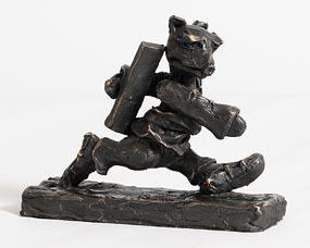 Patrick O'Reilly, Walking Bear (2016) at Morgan O'Driscoll Art Auctions