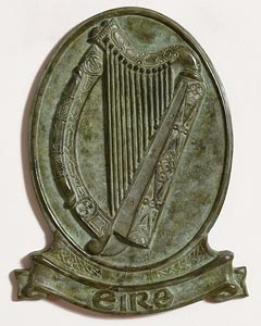 20th Century Irish School, Irish Harp - Eire at Morgan O'Driscoll Art Auctions