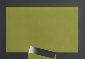 Cecil King, Intrusion - Green (1974) at Morgan O'Driscoll Art Auctions
