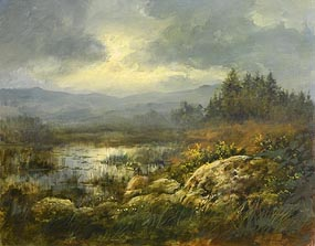 Joop Smits, Marsh Pond at Morgan O'Driscoll Art Auctions