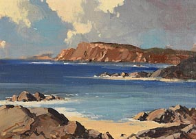 George K. Gillespie, Coastal Scene at Morgan O'Driscoll Art Auctions