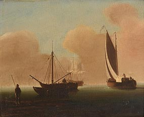 William Sadler, Shipping Beachnal at Morgan O'Driscoll Art Auctions