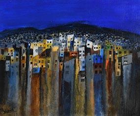Manus Walsh, Deep Blue at Morgan O'Driscoll Art Auctions