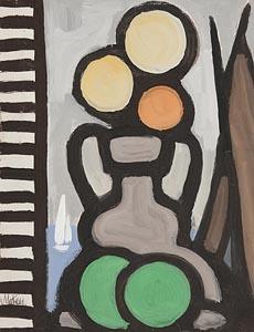 Markey Robinson, Still Life on Windowsill at Morgan O'Driscoll Art Auctions