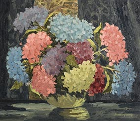 Mabel Young, Still Life - Flowers in a Vase at Morgan O'Driscoll Art Auctions