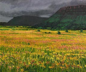 Catherine McWilliams, Distant Ben Wiskin with Meadow (1999) at Morgan O'Driscoll Art Auctions