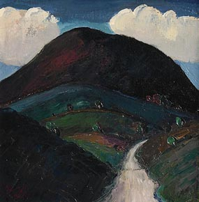 Peter Collis, Wicklow Hills at Morgan O'Driscoll Art Auctions