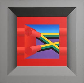 Francis Tansey, Nelson Mandela is Free (1990) at Morgan O'Driscoll Art Auctions