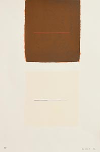 William Scott, Brown and White Related (1972) at Morgan O'Driscoll Art Auctions