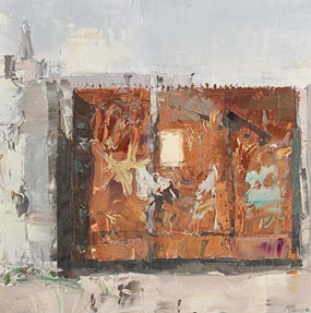 Aidan Bradley, Back of Vicker Street, Dublin (2006) at Morgan O'Driscoll Art Auctions