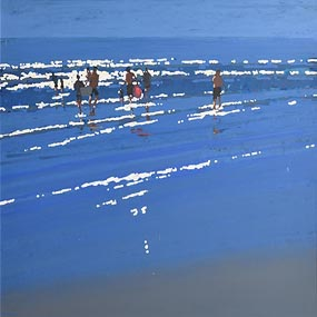 John Morris, Walking in Shallow Water at Morgan O'Driscoll Art Auctions