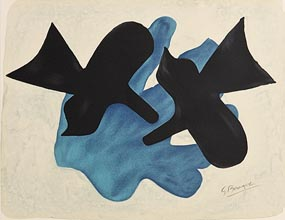 Georges Braque, Two Black Birds, Pelias and Melee at Morgan O'Driscoll Art Auctions