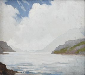 Letitia Marion Hamilton, Coastal Inlet at Morgan O'Driscoll Art Auctions