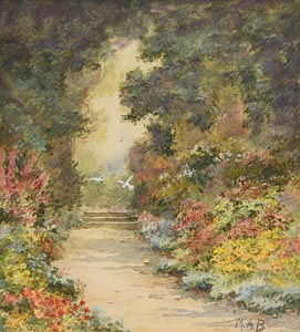 Mildred Anne Butler, The Garden Path at Morgan O'Driscoll Art Auctions